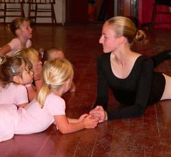 Kelsey teaching